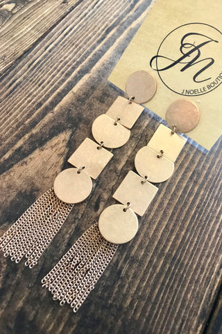Tia Layered Earrings