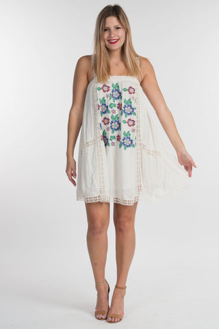 Cross Stitch Floral Dress