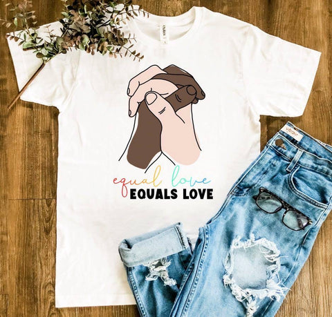 PRE-ORDER Equal Love Equals Love Tee