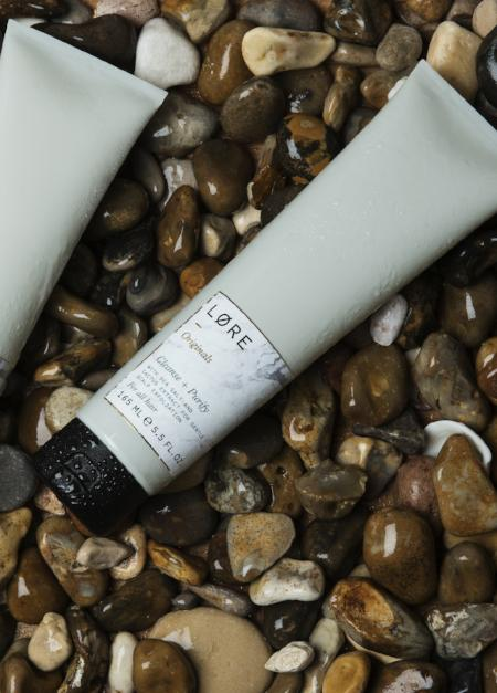 Lore Originals vegan Cleanse + Purify shampoo made in the UK.