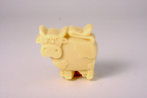Lil Scrubber Standing Cow - Tea Tree & Lavender