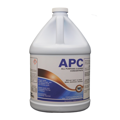 APC Cleaner All Purpose Warsaw Chemical 1 Gallon Industrial Chemical Cleaner