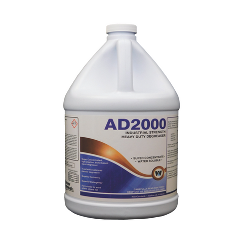 AD2000 Warsaw Chemical Floor Cleaner 1 Gallon Ohio Industrial Cleaner