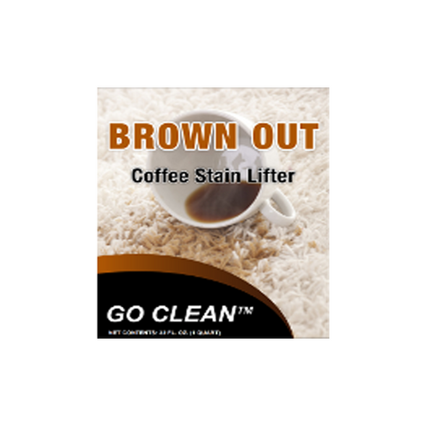 Brown Out Coffee remover Spotter Go Clean Supply Industrial Ohio