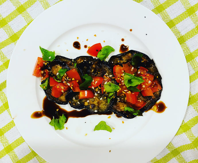 Garlic and Herb Grilled Eggplant