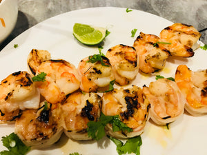 Jalapeno Lime Grilled Shrimp