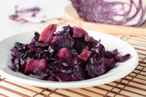 Lambrusco Braised Cabbage & Onions
