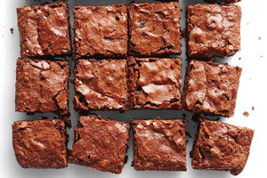 Blood Orange Fudge Brownies