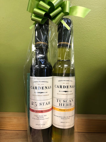 200ml Tuscan Herb Olive Oil & 25 Star Balsamic Gift Set