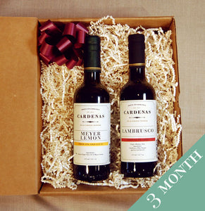 Olive Oil & Balsamic Vinegar Club - 3 Month Subscription