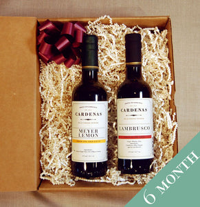 Olive Oil & Balsamic Vinegar Club - 6 Month Subscription