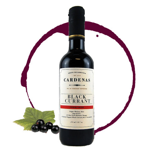 Black Currant Dark Balsamic 375ml