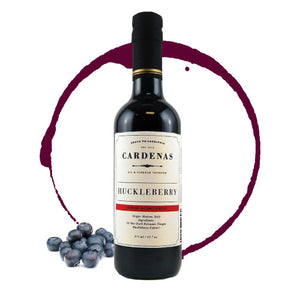Huckleberry Dark Balsamic 375ml Bottle