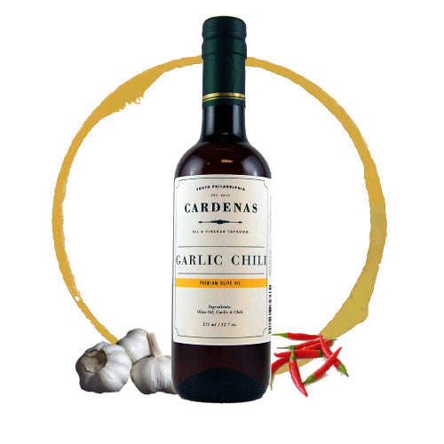 Garlic Chili Infused Olive Oil 375ml