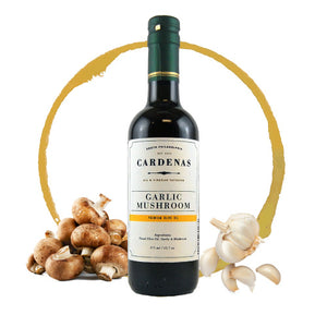 Garlic Mushroom Infused Olive Oil 375ml