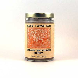 Rare Hawaiian Organic Macadamia Honey