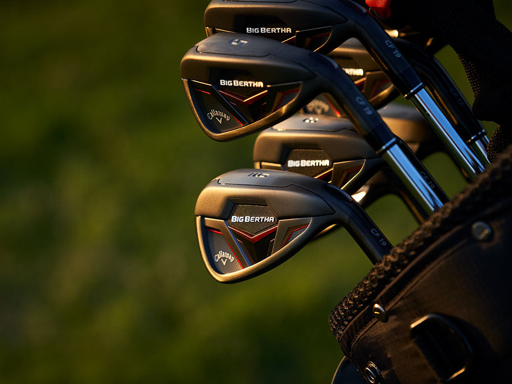 CALLAWAY BIG BERTHA IRONS COMING SOON!