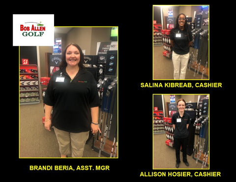 Bob Allen Golf Sales Staff