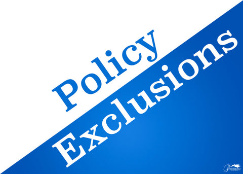 Policy Exclusions, Bob Allen Golf