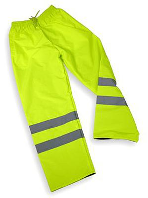 High Visibility Trousers Yellow