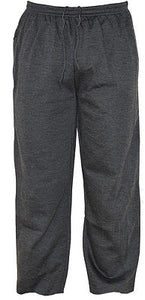 MENS BLACK JOGGING/GYM/CASUAL TROUSERS Charcoal