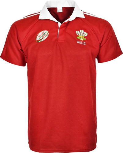Men's Rugby Wales Half Sleeve T-Shirt