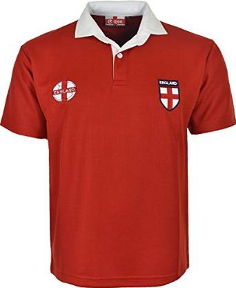 ENGLAND EURO FOOTBALL CHAMPIONSHIP TOP RED T-SHIRT