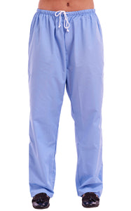 Unisex Medical Scrub Trouser Sky
