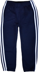 MEN TRACKSUIT BOTTOM JOGGING BOTTOM CARGO/COMBAT STYLE IN TRICOTE FABRIC Blue/White