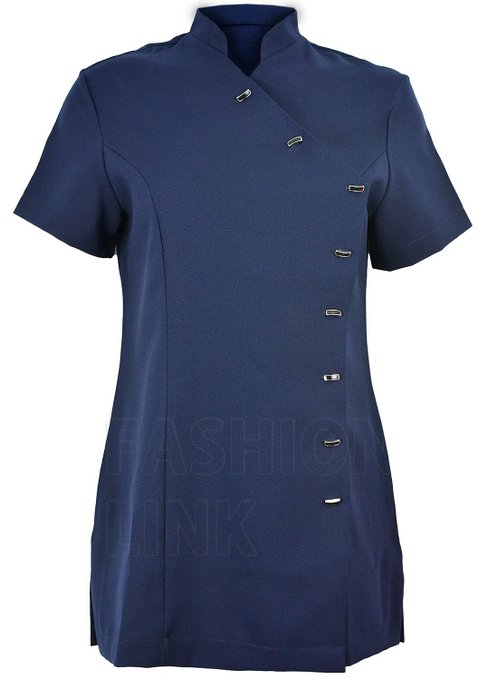 Ladies Beauty Assymetric Tunic FUL06 Navy