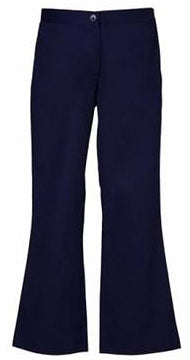 LADIES BOOTLEG TROUSERS FNLBP01 NAVY