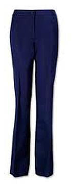 LADIES WIDE LEG TROUSERS FNLWP01 NAVY