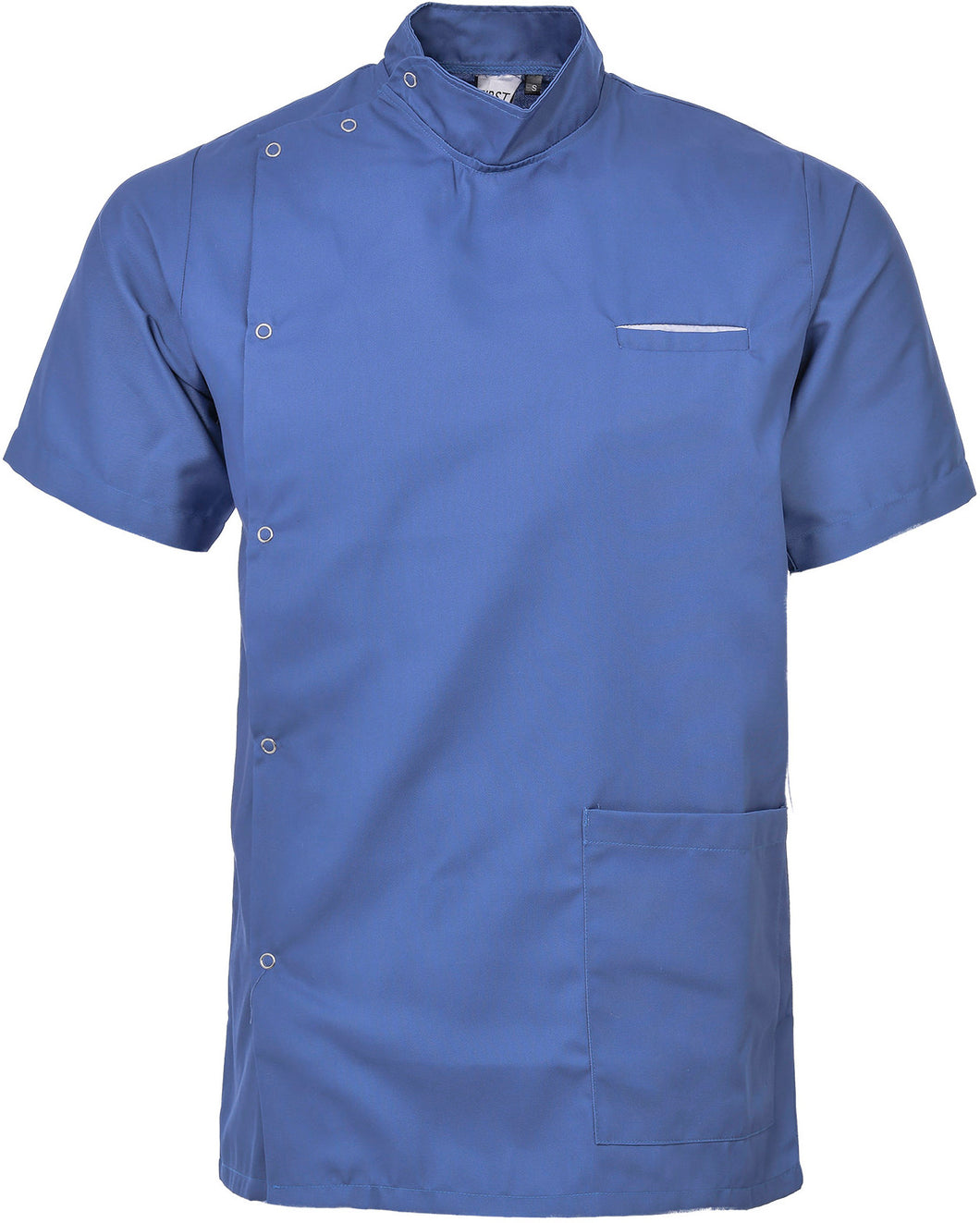 Male Asymmetric Healthcare Tunic Hospital Blue