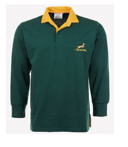 Men's Rugby Full Sleeve  Shirt with South-Africa Embroided Logo