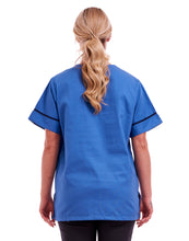 Unisex Smart Scrub Tunic Healthcare Uniform Hospital Blue