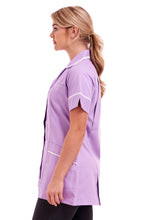 Ladies Round Collar tunic FUL01 Lilac