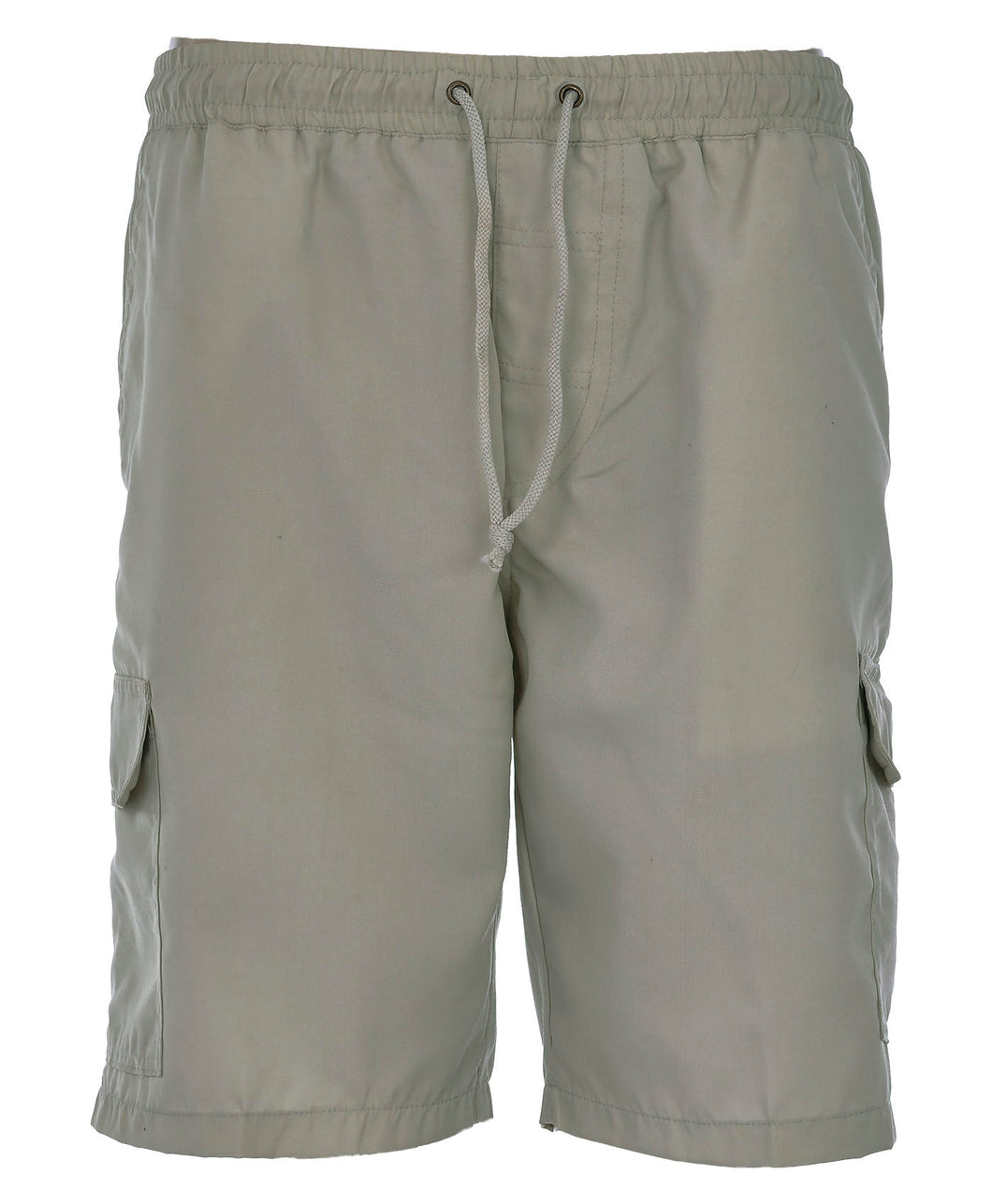 Mens Cargo Combat Shorts (Stone Color)