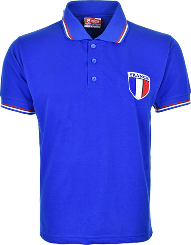 Kids France Football Championship Pique Polo T-Shirt