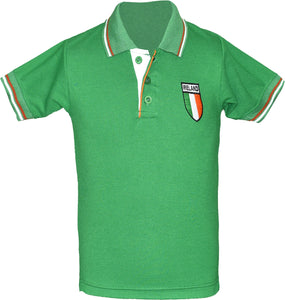Kids Ireland Football Championship Polo T-Shirt