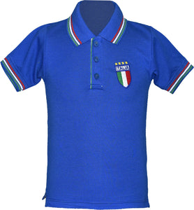 Kids Italy Football Championship Polo T-Shirt