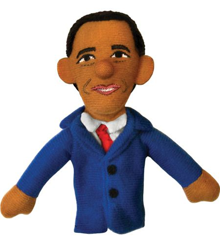 The Unemployed Philosophers Guild Michelle Obama Finger Puppet and Refrigerator Magnet for Kids and Adults