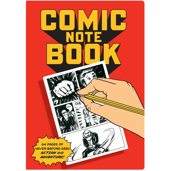 Comic Note Book - The Unemployed Philosophers Guild