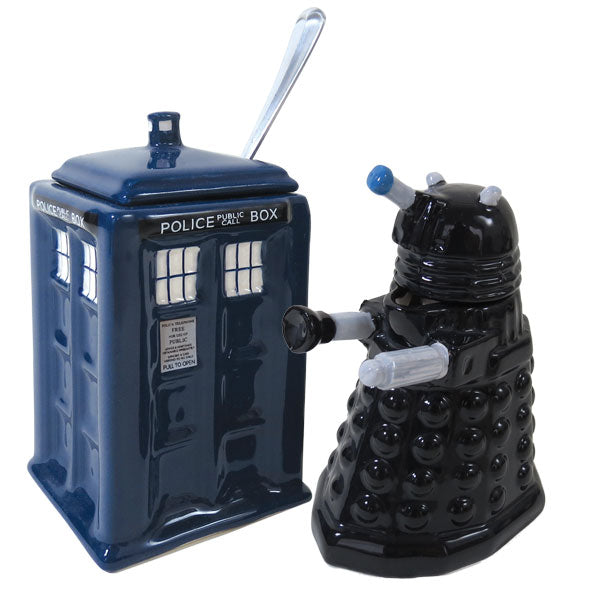 Doctor Who Creamer & Sugar - The Unemployed Philosophers Guild