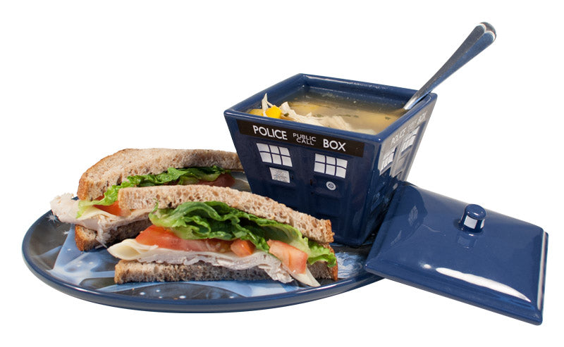 Doctor Who Soup & Sandwich