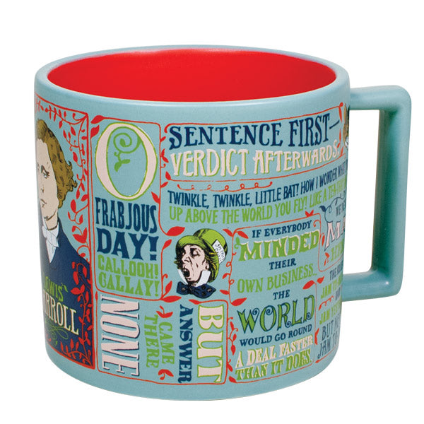 Mugs the unemployed philosophers guild lewis carroll mug gumiabroncs Image collections