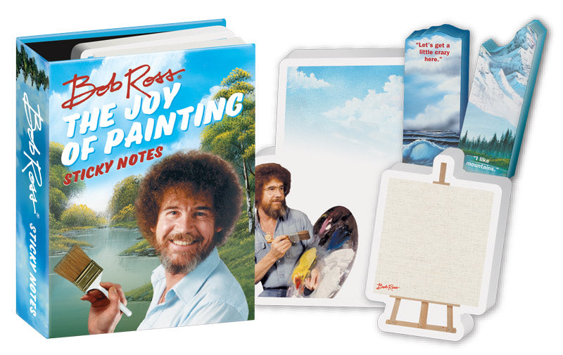 Bob Ross Sticky Notes - The Unemployed Philosophers Guild