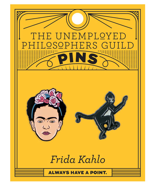Frida & Monkey Pins - The Unemployed Philosophers Guild