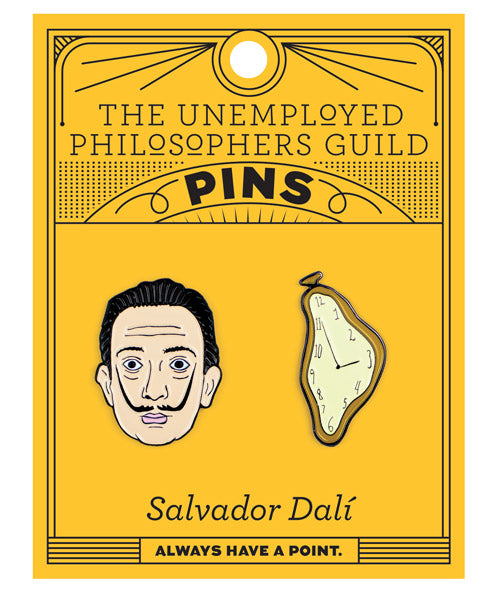 Dalí & Watch Pins