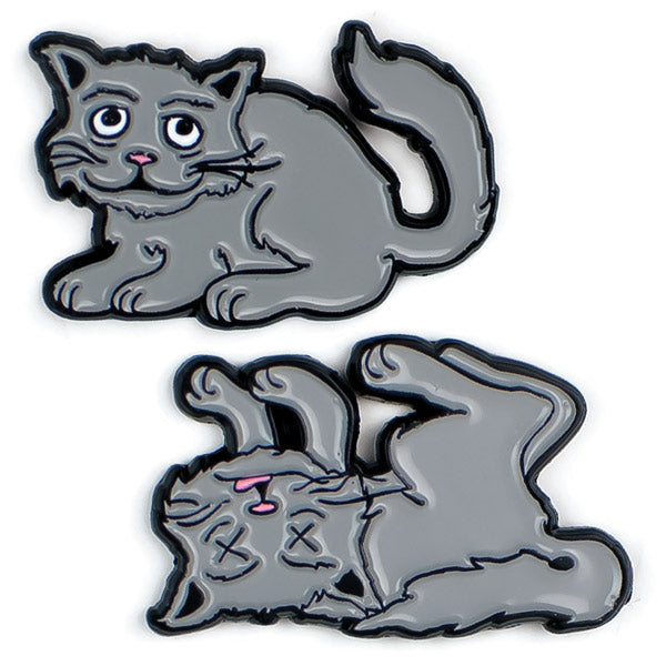 Schrödinger's Cat Pins