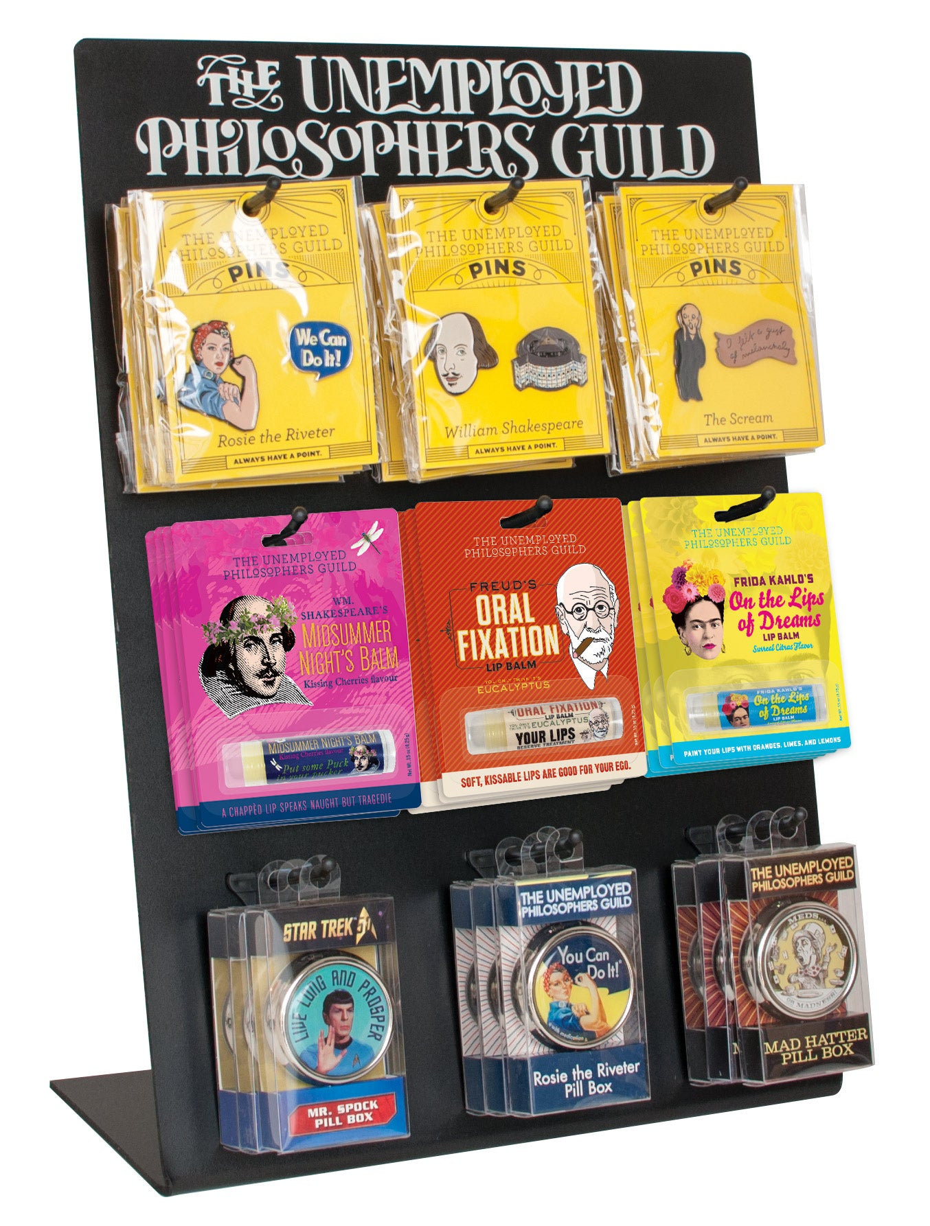 9 Hook Counter Display – The Unemployed Philosophers Guild